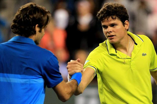 Madrid Open 2012: Roger Federer Versus Milos Raonic in a 2nd Round Blockbuster