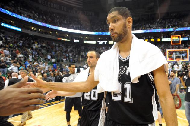 San Antonio Spurs Don't Waste Second Chance to Make a 1st-Round Impression