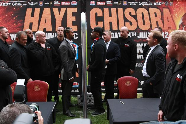 Dereck Chisora Claims David Haye Pulled a Knife on Him, Their Bout Announced