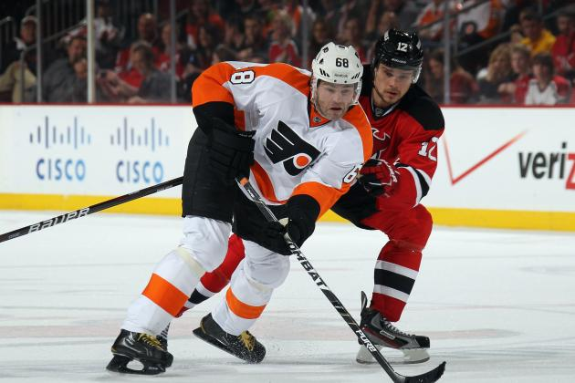 NHL Playoff Predictions 2012: Projecting Game 5 Stats for Flyers vs. Devils