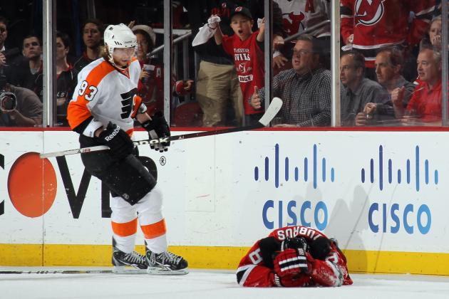 2012 NHL Playoffs: Claude Giroux Suspension Undeserved, Flyers Have to Deal
