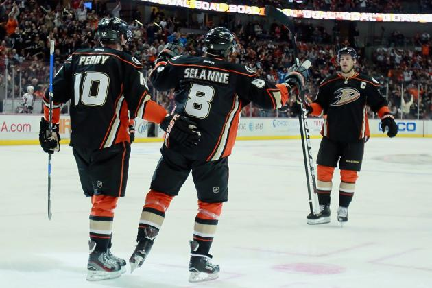 NHL Predictions: What the Anaheim Ducks Lineup Will Look Like Next Season