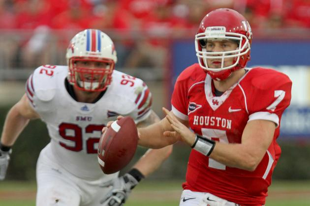 SMU DE Margus Hunt Will Be the Story of the 2013 NFL Combine and a Top 10 Pick