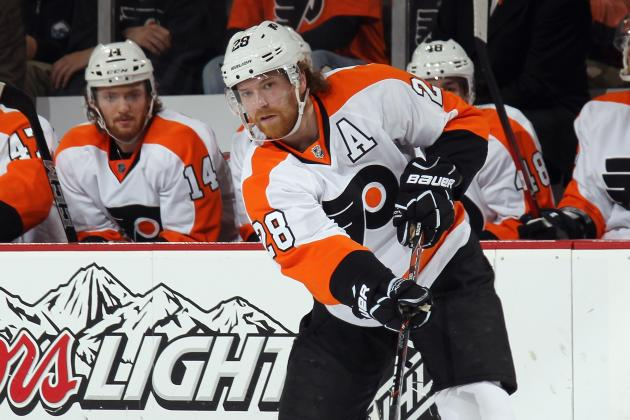 NHL Playoffs 2012: Why Claude Giroux Should Not Have Been Suspended for Game 5