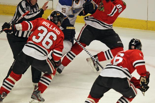 Chicago Blackhawks: Why Marcus Kruger Can Replace Dave Bolland in 2012-13