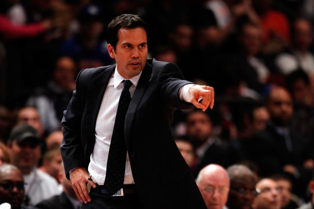 NBA Playoffs 2012: Why Miami Heat's Erik Spoelstra Should Not Be a Scapegoat