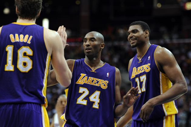 Kobe Bryant's Selfish Refusal to Share Ball with Andrew Bynum Will Doom Lakers