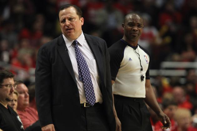 NBA Playoffs 2012: Will Tom Thibodeau Lead the Chicago Bulls to Elimination?