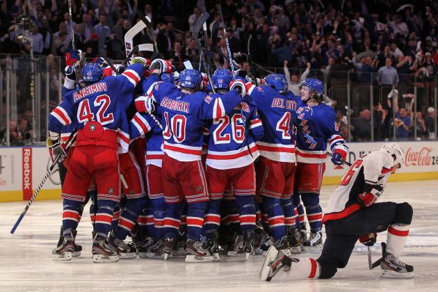 Washington Capitals' 3-2 OT Loss to Rangers Is Latest of Many Playoff Failures
