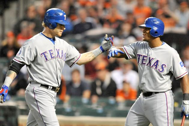 Josh Hamilton: Texas Rangers OF Erupts for 4 Home Runs Against Baltimore Orioles