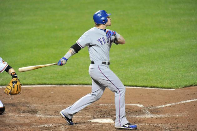 Texas Rangers: Josh Hamilton Sends Message with 4-Homer Game