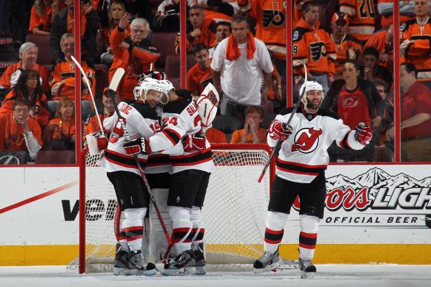 2012 NHL Playoffs: Surprise New Jersey Devils Knock out Giroux-Less Flyers