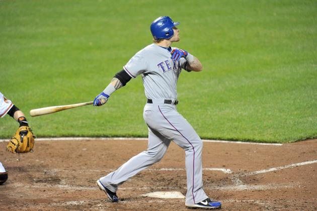 Josh Hamilton's 4 HR Lead Rangers' Bombardment of Orioles at Camden Yards