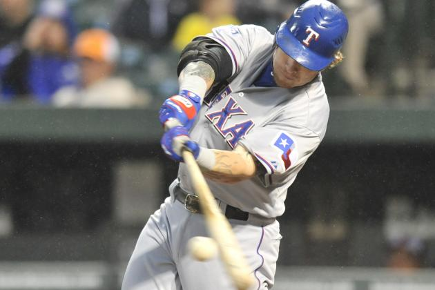 Josh Hamilton Leads Texas Rangers with Legendary 4-Home Run Performance