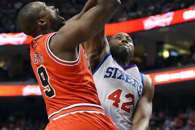 Bulls 77, 76ers 69