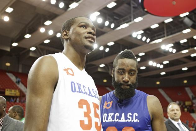 2012 NBA Playoffs: OKC Thunder Have the MVP & 6th Man in Durant and Harden