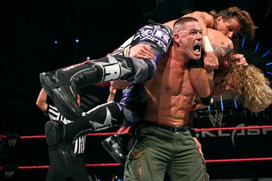WWE Backlash 2007: Main Event Was the Best Fatal Four-Way Match in WWE History