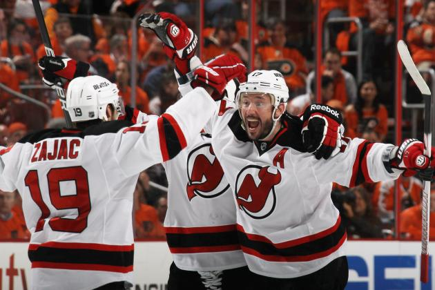NHL Playoffs 2012: New Jersey Devils' First 2 Rounds by the Numbers