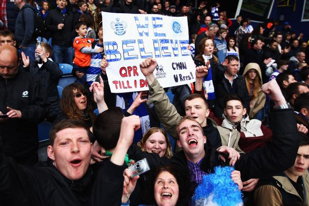 Premier League Football: My Wife, Queens Park Rangers and the Season's End