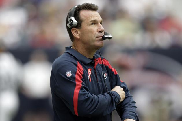 Houston's Gary Kubiak Does Not Deserve a Contract Extension