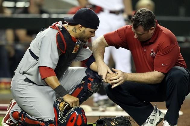 St. Louis Cardinals Catch Break: Yadier Molina's Hand Doesn't Have One
