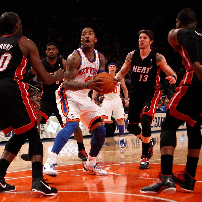 NBA Playoffs 2012: J.R. Smith Crippling Knicks Offense