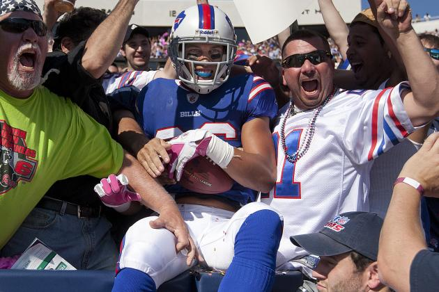 Buffalo Bills Breakout Performances of 2012: Wide Receiver David Nelson