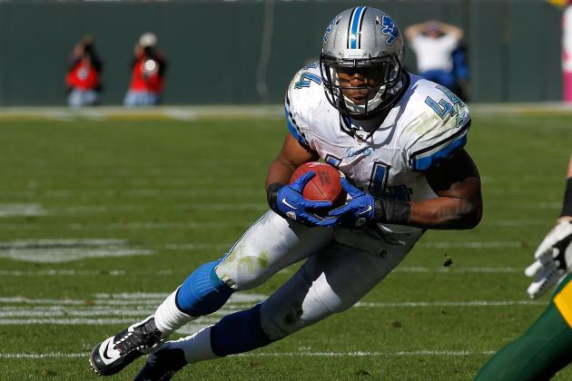 Best, Leshoure and Smith: Playing Rushing Roulette in Detroit