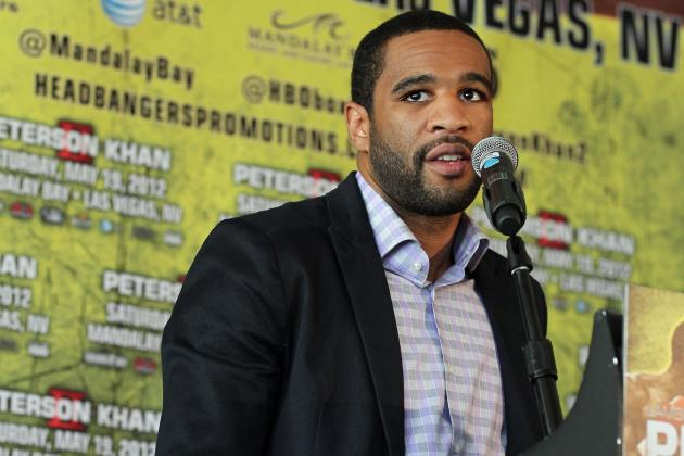 Lamont Peterson vs. Amir Khan Rematch off