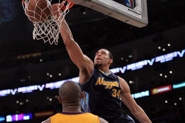 NBA Playoffs 2012: JaVale McGee Starting to Find Himself in the Playoffs