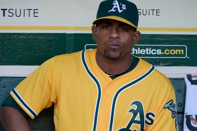 Yoenis Cespedes Rookie of the Year Watch: A's Outfielder Handed Minor Setback