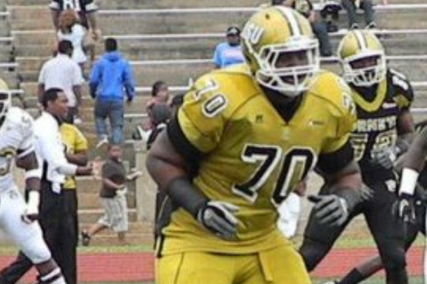 2013 NFL Draft: Alabama State Offensive Tackle Terren Jones