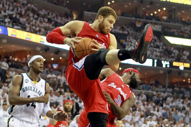 Blake Griffin Sprains Left Knee, Memphis Fans Boo Loudly