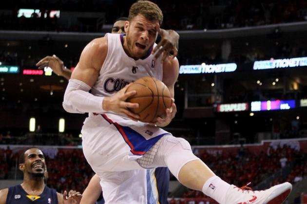 Blake Griffin Injury: Sprained Knee Will Be No Problem for Clippers in Game 6