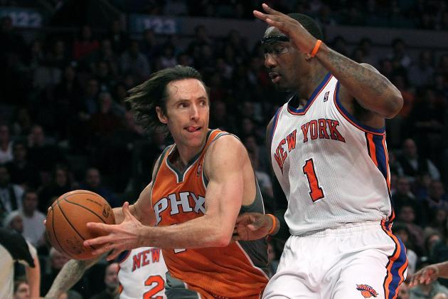 New York Knicks: Amar'e Stoudemire Smart to Want Free Agent Steve Nash