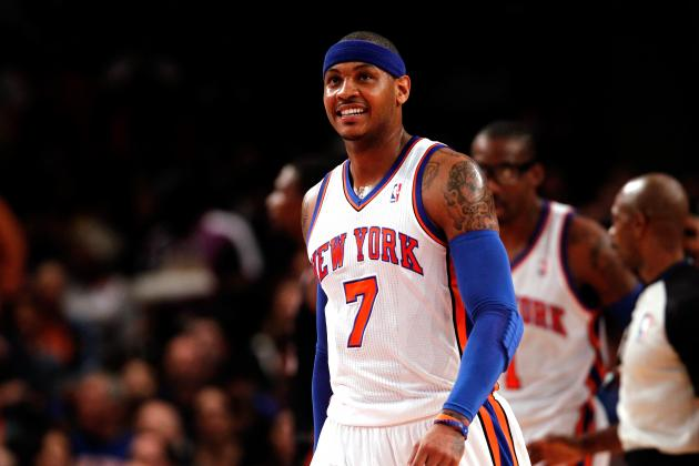 Predicting NBA Futures of Carmelo Anthony, Amar'e Stoudemire and Jeremy Lin