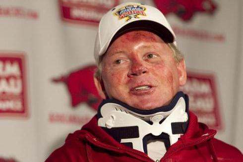 Arkansas Football: Why Would You Want to Buy Bobby Petrino's Wrecked Motorcycle?