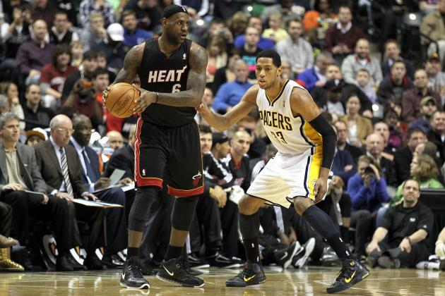 NBA Playoffs 2012: Indiana Pacers Have No Chance to Upset Miami Heat
