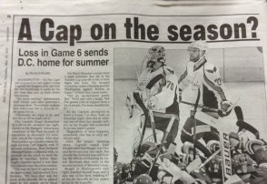 The NY Post Just Assumes the Capitals Lost Game 6 with Incorrect Headline