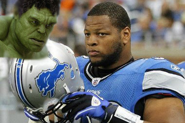 Ndamukong Suh Needs to Restrain His Inner Hulk to Be Great