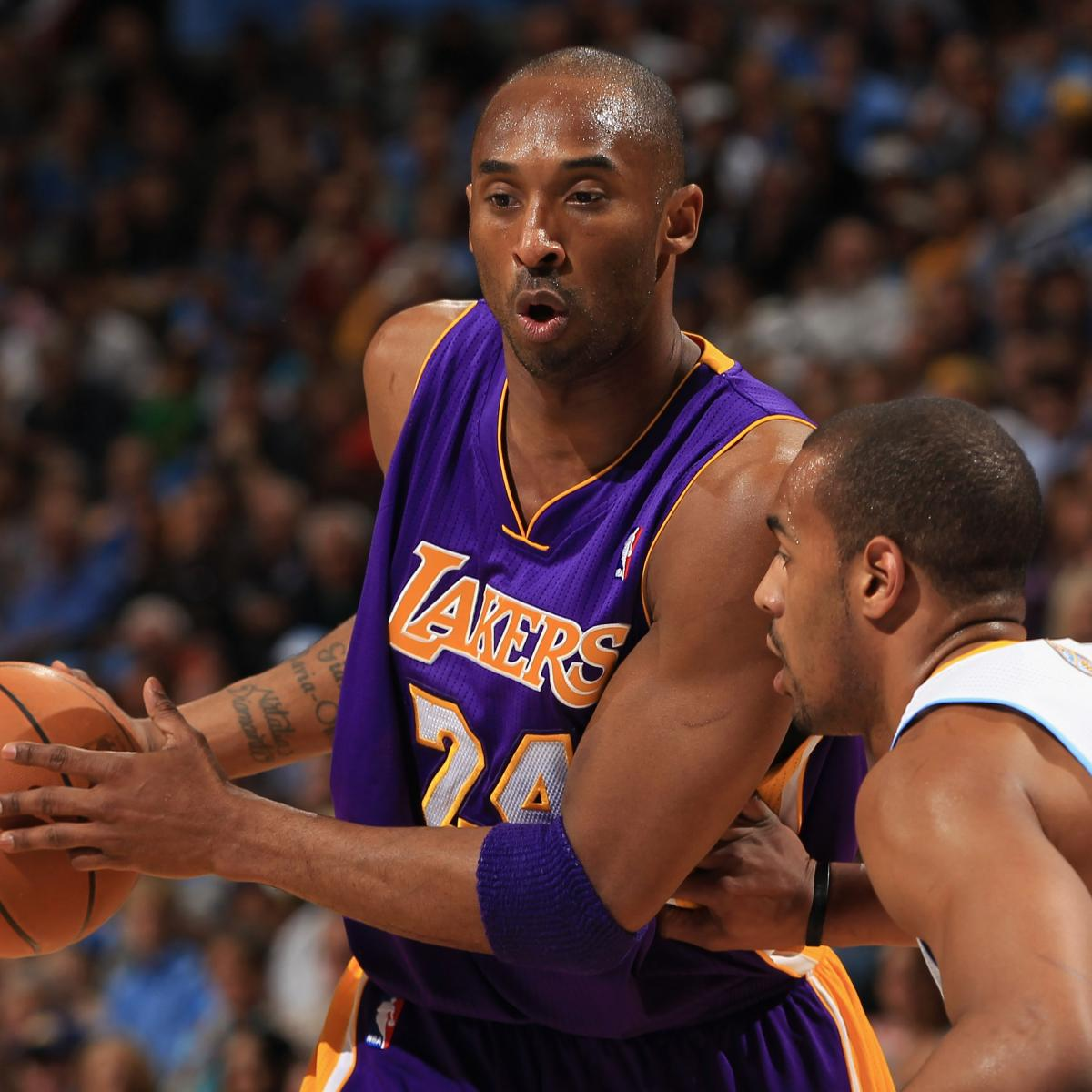 Kobe Bryant: Lakers Star Won't Let Illness Deter Him From