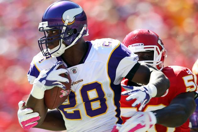 Fantasy Football 2012: Darren McFadden vs. Adrian Peterson