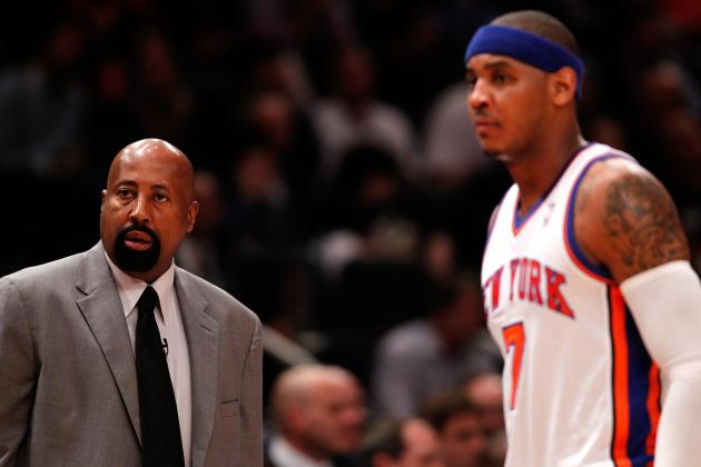 Knicks' Stars Insist They Can Co-Exist with Mike Woodson