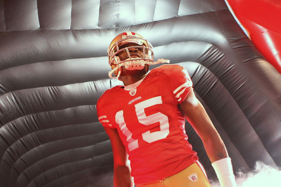 San Francisco 49ers' Michael Crabtree Will Develop Under Tutelage of Randy Moss