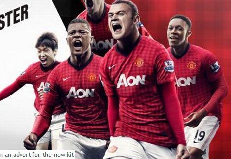 Manchester United 2012/13 Home Kit