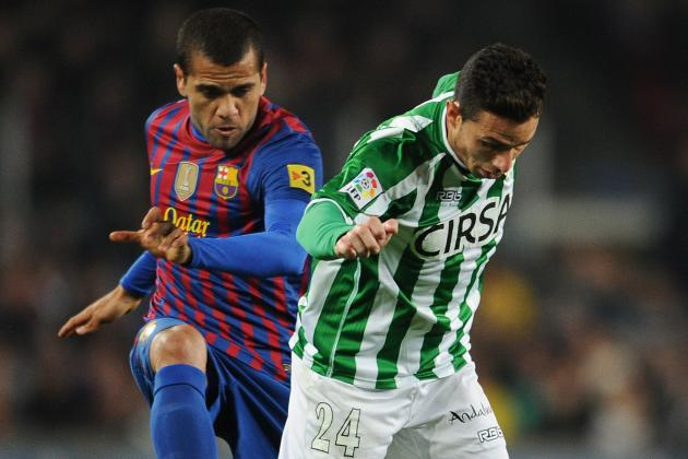 Real Betis vs. Barcelona: Lionel Messi Chases Pichichi Trophy, Carles Puyol out
