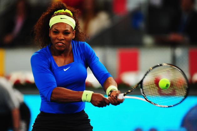 Madrid Open 2012 Scores: Dominance Bodes Well for Serena Williams in French Open