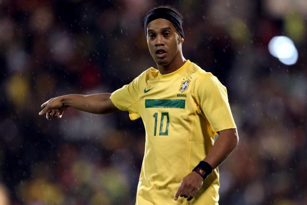 Brazil Expected to Leave Ronaldinho off 2012 London Olympic Roster