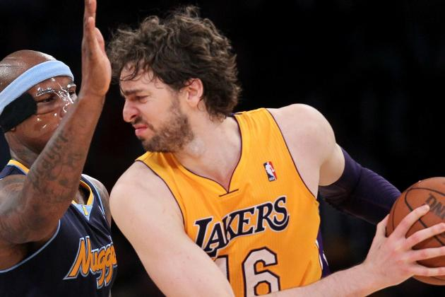 Pau Gasol Seeking Better Lakers Ball Movement