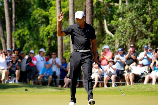 Johnson, Na, Kuchar in Lead; Tiger, Phil Make Cut